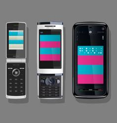 cellular telephone vector image vector image