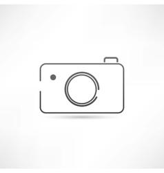 Simple camera icon vector image