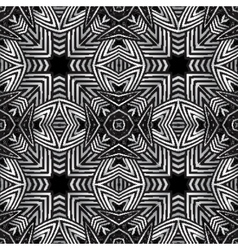 Optical art abstract striped seamless pattern vector