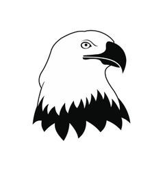 Bald eagle icon vector