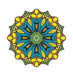 Bellflower mandala vector