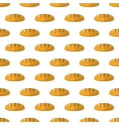 Bread pattern seamless vector