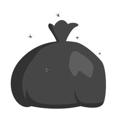 Garbage trash pack flat vector image