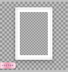 poster frame design template vector image