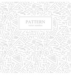 seamless geometric patterns in memphis style vector image