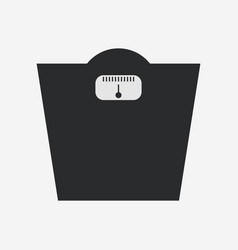 Bathroom scale icon vector