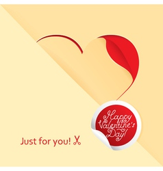 happy love vector image vector image