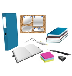 office object vector image
