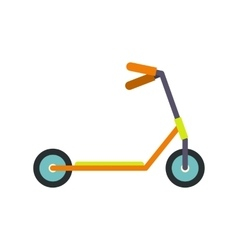 Kick scooter icon vector