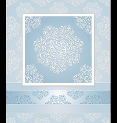 Set seamless patterns lace vector