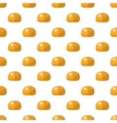 Bun pattern seamless vector