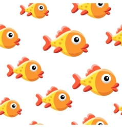 Goldfish background vector