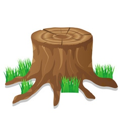 icons stump vector image