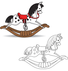 Rocking Horse vector image