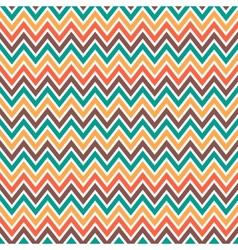 Seamless chevron pattern vector image vector image
