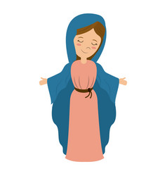 Holy family icon image vector