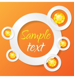 Applique Background vector image vector image