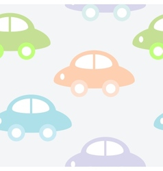 Background with cars vector image