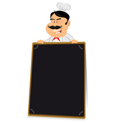 Blackboard restaurant sign vector