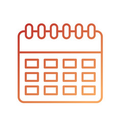 delivery logistic calendar planning organizer vector image