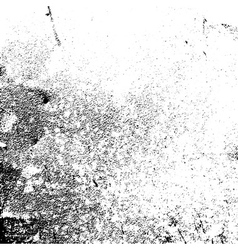 Grunge texture white black grain vector image vector image