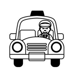 taxi service public icon vector image vector image
