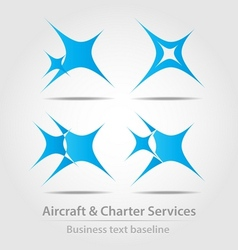 Originally designed business icon vector