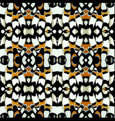 Color seamless natural pattern in butterfly print vector