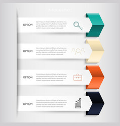 Infographics business banners set vector