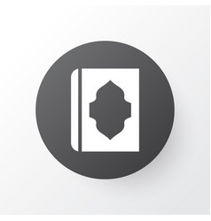 Holy book icon symbol premium quality isolated vector