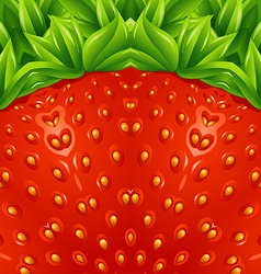 Optical strawberry background pattern vector