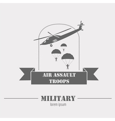 Military and armored vehicles logos and badges vector