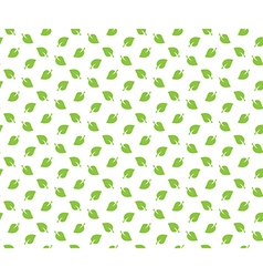 Green spring leaves seamless pattern wallpapper vector