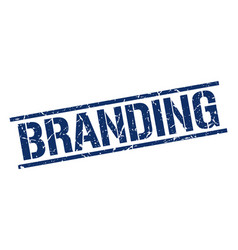 Branding stamp vector