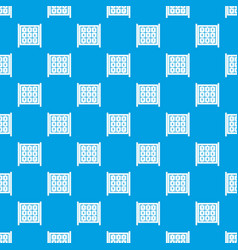 cubes with numbers on playground pattern seamless vector image vector image