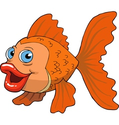 gold fish vector image