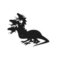 Hydra greek and roman mythology a multi-headed vector