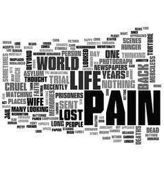 Why do we feel that life can be cruel text word vector