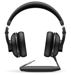 Acoustic headphones 02 vector