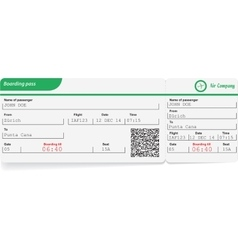 Variant of boarding pass vector