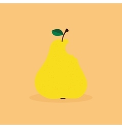 Abstract delicious Pear vector image vector image