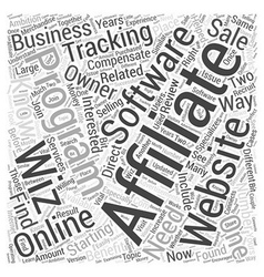 Affiliate tracking software review affiliate wiz vector