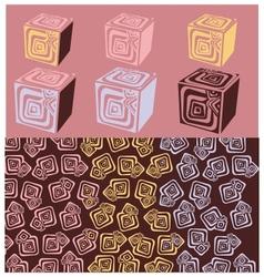 cubo vector image