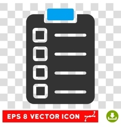 Test task eps icon vector