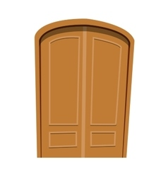 Door isolated vector