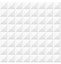 White geometric texture seamless 3d pattern vector