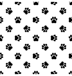 cat paw seamless vector image