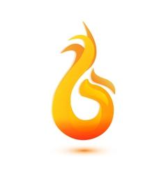 Flames logo vector image