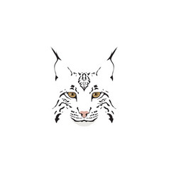 Lynx logotype vector