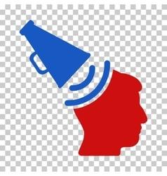 Propaganda megaphone icon vector